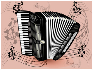 Accordion black