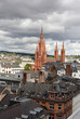 The view over Wiesbaden