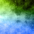Green-Blue triangle-square-universe background Lumicuci-6