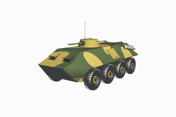 tank armored troop-carrier