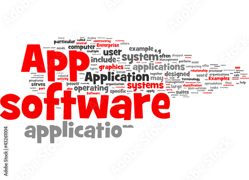 Application software (app)