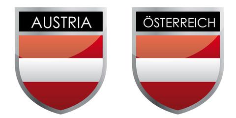 Austria flag emblem