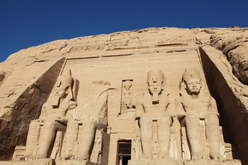 Abu Simbel temple, unesco world heritage , Egypt