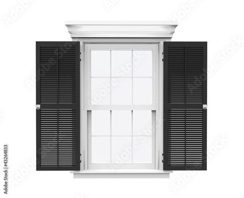 House Window Black 2