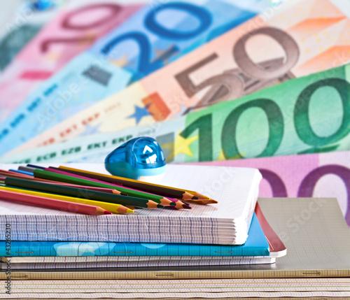 Montage budget rentrée scolaire