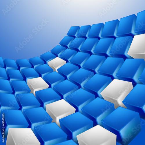 砖科学空间纹理组结构线背景蓝色行观点设计辉光金属铬银阴影风格see