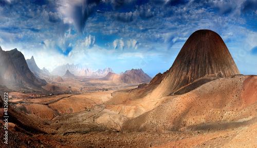 Poster Fantasie Landschap Fantastic landscape