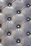 Fototapety silver  upholstery pattern with crystal
