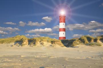 Leuchtturm in den Duenen