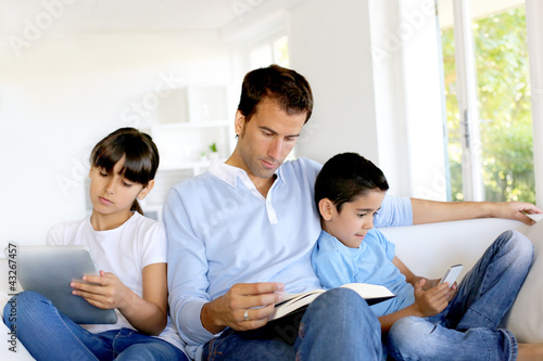 No more communication in family