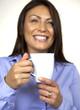 M11 BBK Frau mit Kaffee Tasse