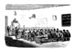 School : classroom - 19th century