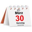 Kalender - 30.03.2013 - Karsamstag