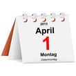 Kalender - 01.04.2013 - Ostermontag