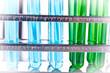 Close up of laboratory treatment