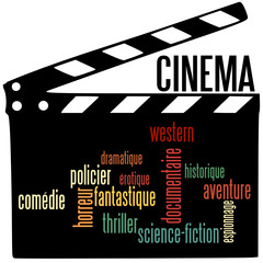 Nuage de Mot : Cinéma et Clap