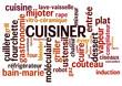 Nuage de mots : Cuisiner