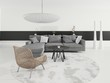Modern Luxury Loft Interior / Luxury couch