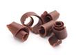 chocolate curls - 43278218