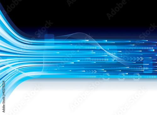 Abstract background of technology connection.