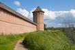 Стены и башни Спасо Ефимьевского монастыря в Суздале