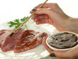 Marinating meat