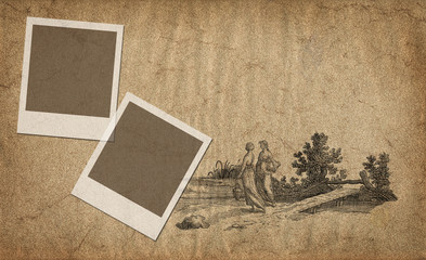 Two frames illustration