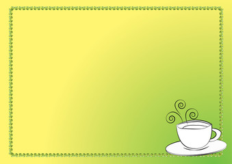 Cup of tea or coffee