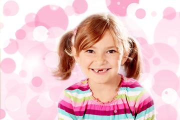 Kleine Dame mit grosser Zahnlücke :-)