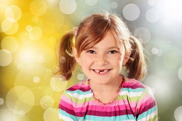 Kleine Dame mit Zahnlücke :-)