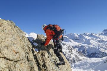 Klettern im Hochgebirge