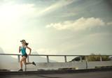 determination endurance runner poster