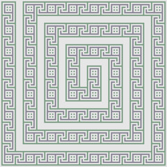 Greece maze light ornament