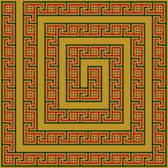 Greece maze ornament