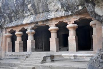 Hindu Temple, Elephanta Island, near Mumbai (India)