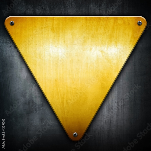 golden triangle background - 43291002