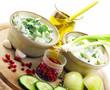 Zubereitung von Gurkensalat