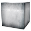 steel box (isolated with clipping path)
