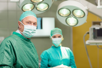 Two surgeon standing