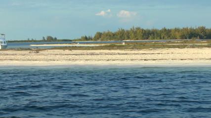 Sandy beach of Cayo Largo del Sur, Cuba