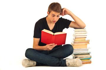 Mann beim lesen 23.07.12