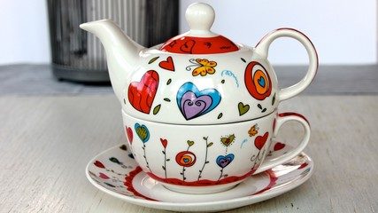 Tee Geschirr