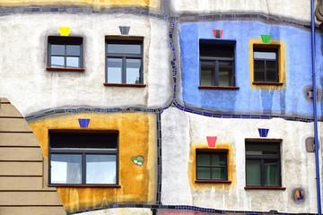 Hundertwasser Haus, Vienna Austria