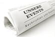 Konzept für Ankündigung Ihrer Veranstaltungen