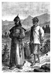 Trad. chinese Mandarin & Servant