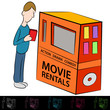 Movie Rental Machine