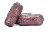 typical Spanish blood sausages