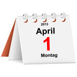 Kalender - 01.04.2013