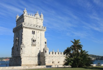 Torre de Belem in Lisbon, Portugal