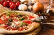 Leinwandbild Motiv Pizza